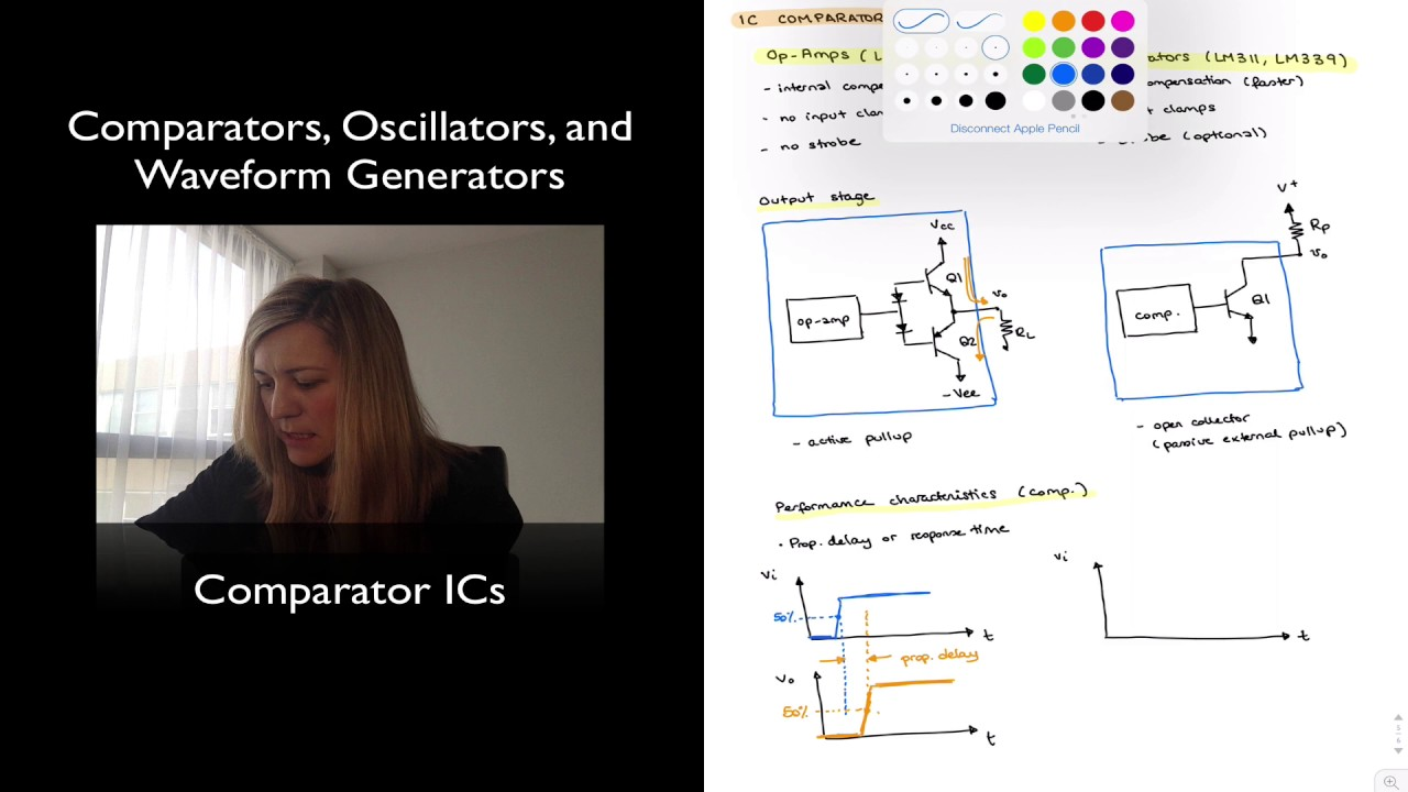Comparator Ics Youtube Oscillator Circuit By Lm311