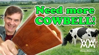Wooden Cowbell | New Year's Noisemaker 2011