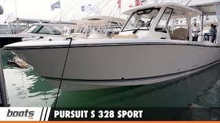 Pursuit S 328 Sport: First Look Video Sponsored by United Marine Underwriters