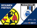 Resumen Y Goles | América Vs Querétaro | Jornada 10 - Apertura 2019 | Liga BBVA MX