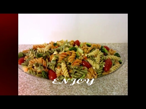 Tri-Color Pasta Salad With Italian Dressing