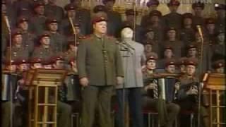 """Stanislav Ivanovich Frolov sings """"Song of the Dnieper"""": film"""