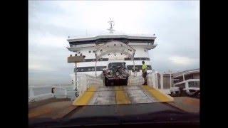 Driving Aboard Spirit of Tasmania II Port Melbourne