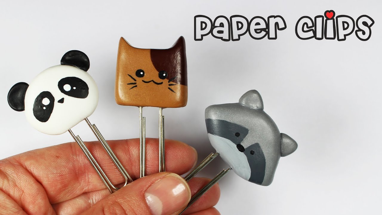 how to make stuff out of paper clips