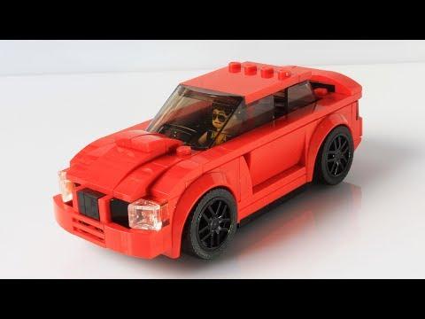 Lego Speed Champions Subaru Impreza MOC