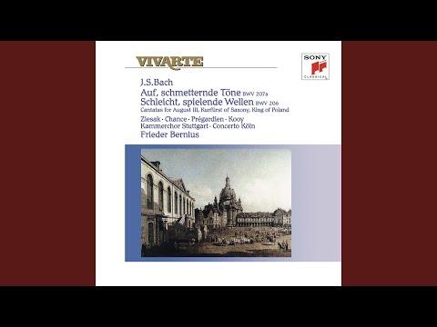 Auf, Schmetternde Töne Der Muntern Trompeten, Cantata BWV 207a: 4. Recitativo (Soprano, Basso)...