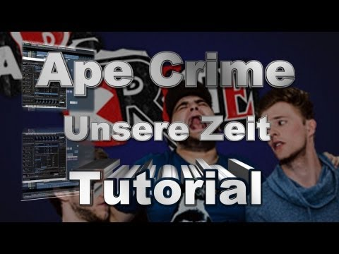 Apecrime - Unsere Zeit (Making Of /Tutorial) Cubase - Funky House