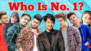 Top 10 tik tok stars in India 2019 Mr Faisu jannat zubair Sagar Goswami Garima Chaurasia noob