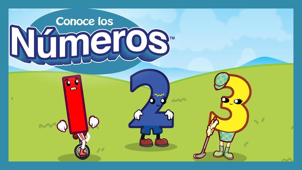 "Conoce los Números ""Contando"" | Meet the Numbers ""Counting"" (Spanish Version)"