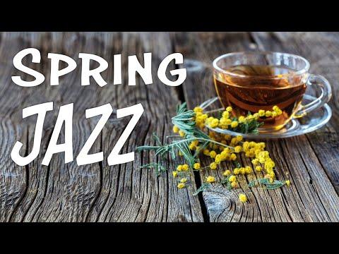 💐 Relaxing Spring JAZZ - Gentle Piano JAZZ Music & Good Mood