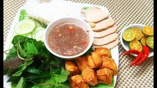Cách Pha Mắm Tôm Ăn Bún Đậu chuẩn ngon ăn không bị nặng bụng / Ăn Gì Đây ?