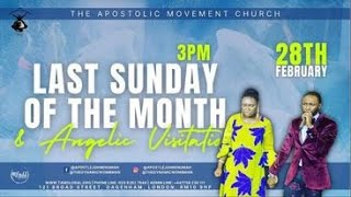 LAST SUNDAY OF THE MONTH PROPHETIC AND ANGELIC VISITATION SERVICE / LONDON //APOSTLE JOHN  ENUMAH