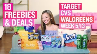 ★ 18 Target, Walgreens, & CVS Coupon DEALS & FREEBIES (Week 5/13 – 5/19)