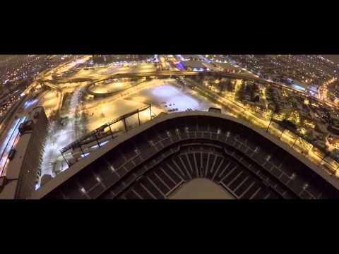 Snow in Baltimore 2015 - Drone Footage