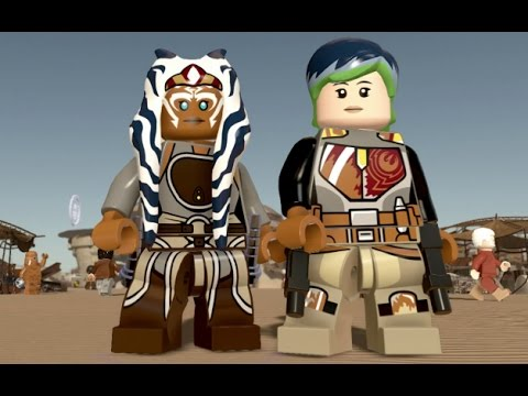 LEGO Star Wars: The Force Awakens - Rebels DLC Pack - All Characters ...