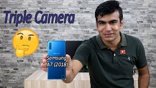 Samsung Gaaxy A7 (2018) Triple Camera , Detail Specification In Hindi