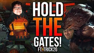 DYRUS AND TRICK HOLDING THE GATES VS TYLER1 thumbnail