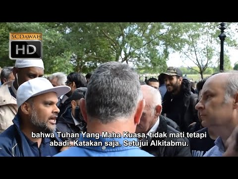 Lari dari Alkitab | Hashim Vs Christians | Speakers Corner | Hyde Park