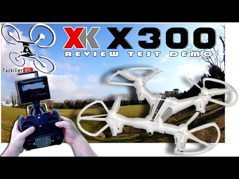 XK X300-F REVIEW TEST DEMO / FPV, Positionnement Optique, Alti Hold etc ...