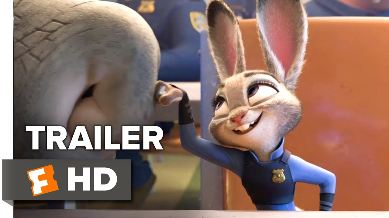 Zootopia Official Trailer 2 2016 - Disney Animated