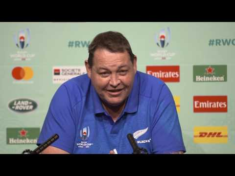 Rugby World Cup Press Conference with Steve Hansen