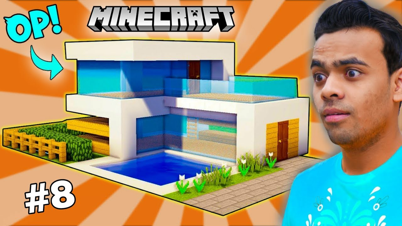 ULTIMATE MODERN HOUSE BUILD BATTLE In Minecraft