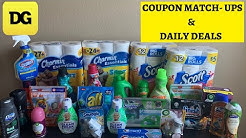 DOLLAR GENERAL COUPONING || COUPON MATCH UP  || BUDGET BOSS COUPONS