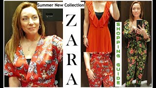 ZARA NEW DRESSES & JUMPSUITS FOR SUMMER 2019/NEW ARRIVALS IN STORE & FASHION TIPS
