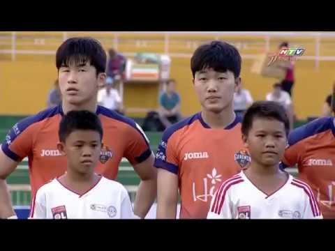 Diễn biến chính trận Tuyển TP.HCM 4-4 Gangwon FC