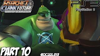 Ratchet & Clank Future Tools of Destruction Gameplay Walkthrough Part 10 - PS3 Lets Play