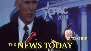 Pence Rallies Conservatives With Call To Fight Hard At 2018 Elections | News Today | 02/22/2018...