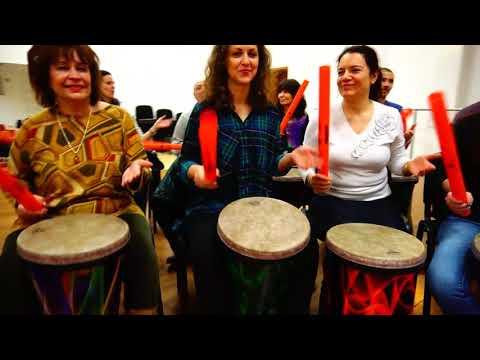 Boomwhackers Dynamic Rhythm Meditation with Martin Ivanov