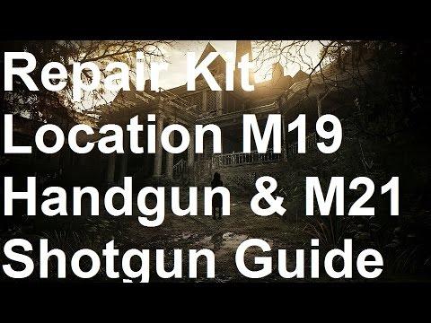 Resident Evil 7 - Repair Kit Location - M19 Handgun & M21 Shotgun Location