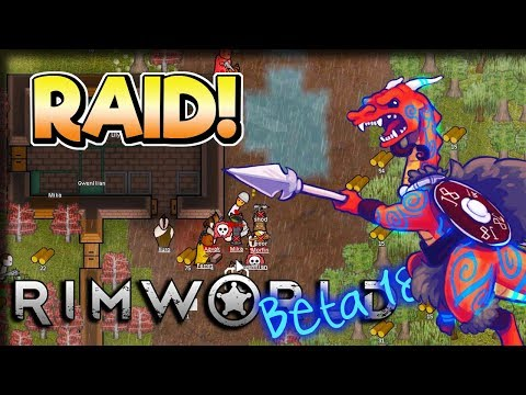 Pirate Raid – Rimworld [Beta 18] Extreme Tribal Gameplay – Let's Play Part 4