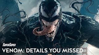 Venom: Complete Marvel Easter Eggs & Movie Details Explained | SuperSuper