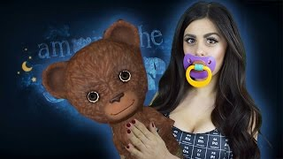 Weirdest Horror Game I\'ve Ever Played - AMONG THE SLEEP - AZZYLAND