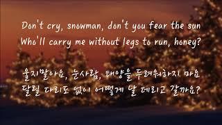 Download Lagu Sia - Snowman (한국어 가사/해석/자막) mp3