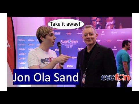 OGAE Australia Interviews Jon Ola Sand (Eurovision - Australia Decides)