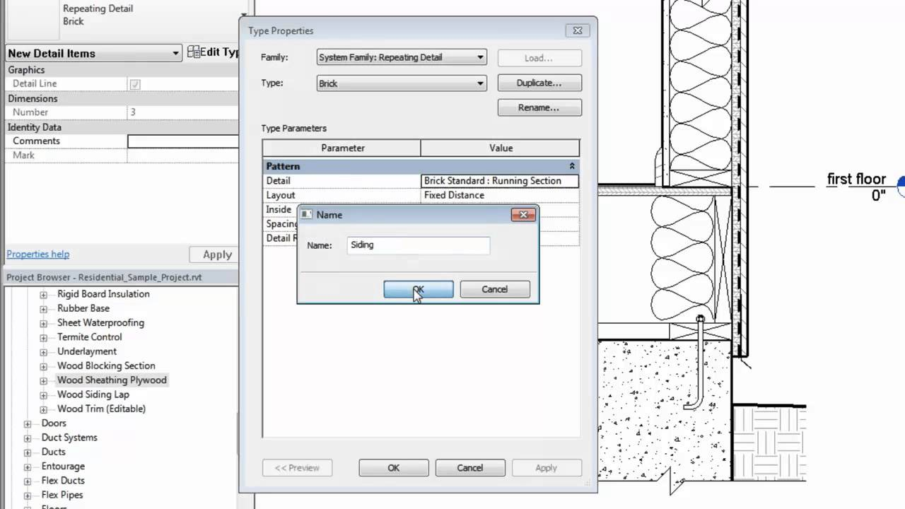 Autodesk Revit Create A Repeating Detail Youtube