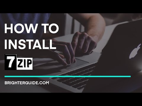 How to Install 7-Zip on Windows 10/7/8.1 - Step by Step Guide