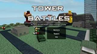 ROBLOX l NTC Game(Wasser) l Spielen hausgemachte Combo in 1 vs 1 l (Turm Battel)(Railgunner und Mörtel)(#1)