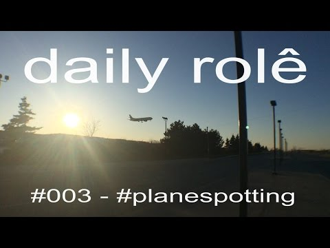 Daily Role #3 | Planespotting