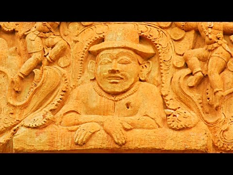 Ancient Indian Sculptures show International Connections - Brihadeeswarar Temple