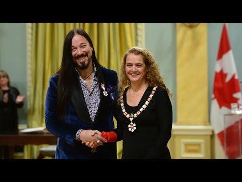 Tragically Hip, Alex Trebek honoured with Order of Canada