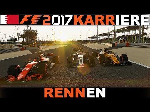 ENGINE OVER 9000!!!   F1 2017 Karriere(2) #069 Bahrain(R)[German HD+ PC Wheel CAM]