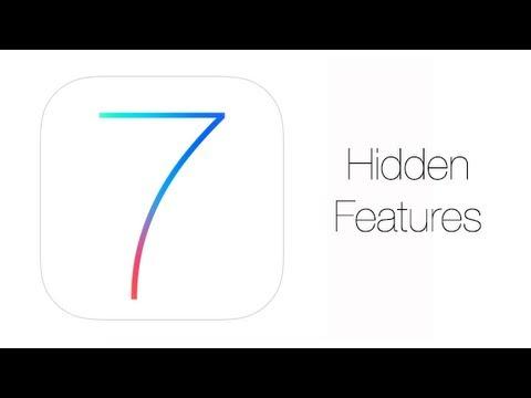 Top 25 Hidden Features In IOS 7 - IPhone Hacks