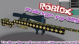 THE BEST SNIPER ATTACHMENT! DEAR WHAT IS THAT SKIN?!? | Roblox: Phantom Forces