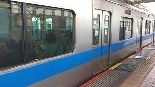小田急3000形3083編成(元3663) 登戸発車