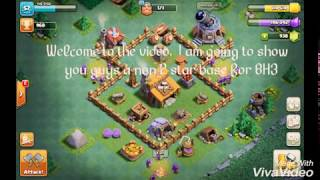 Clash of Clans Non 2 star BH base. (#1)
