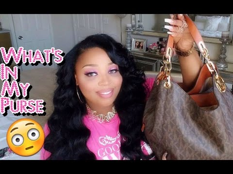 What's in my Michael Kors Purse?